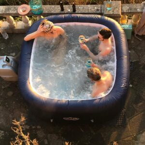 The Magnum Hot Tub in all it's glory